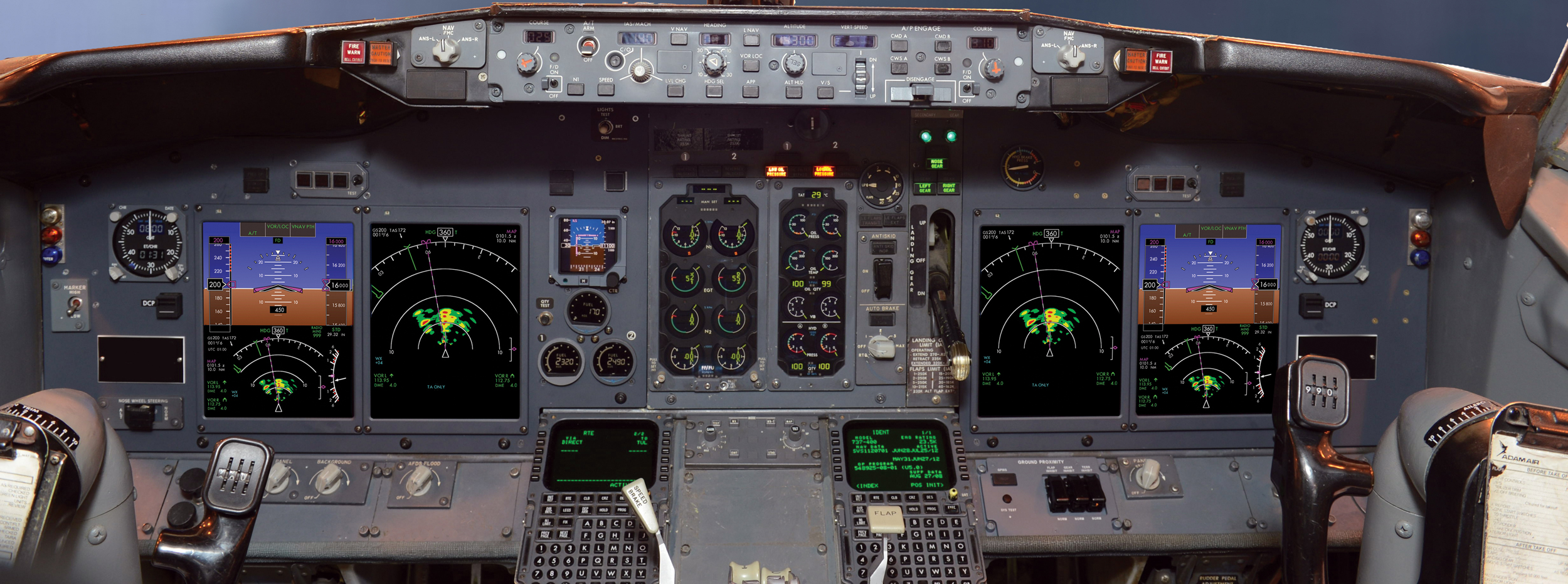 B737 Flight Deck Upgrade Innovative Solutions Amp Support