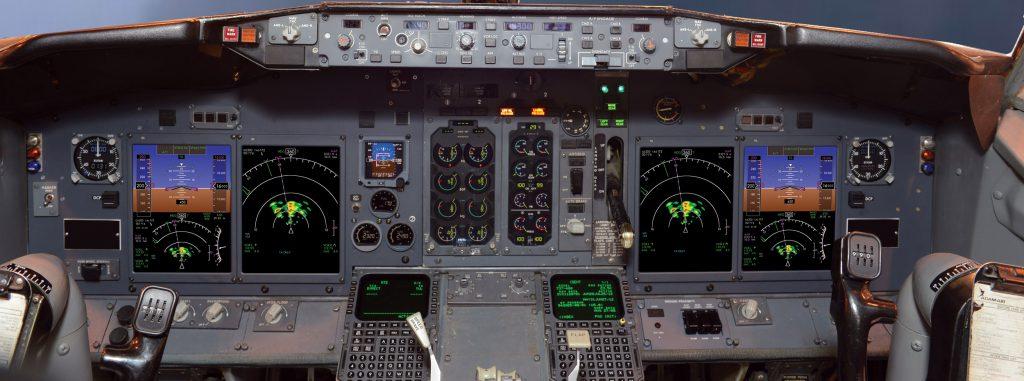 b737 flight deck upgrade