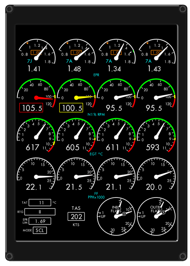 Eids Engine Instrument Display System Innovative