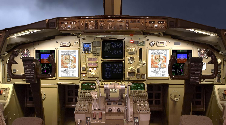 b757  b767 flat panel display system  fpds